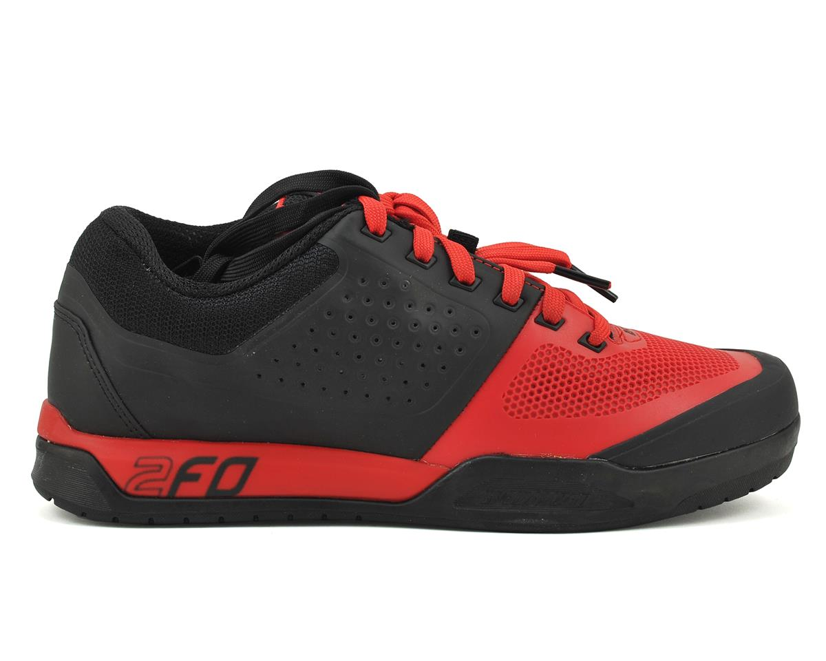 Specialized 2016 2FO Flat MTB Shoe (Black/Red) (46.5)