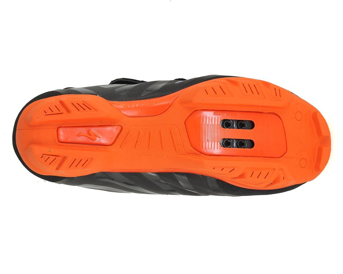 Specialized 2017 Defroster Trail MTB Shoe (Black/Neon Orange Reflective) (42.5)