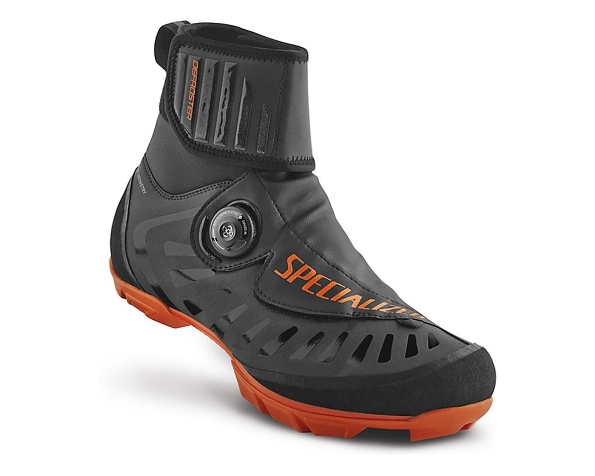 Specialized 2017 Defroster Trail MTB Shoe (Black/Neon Orange Reflective)