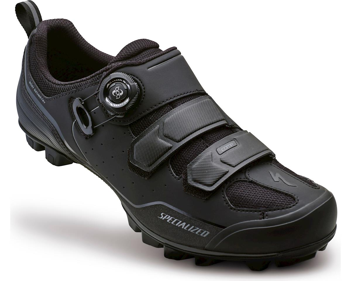 Specialized Comp MTB Shoe (BlackDark Grey) (43.5) [61116 31435] | Mountain