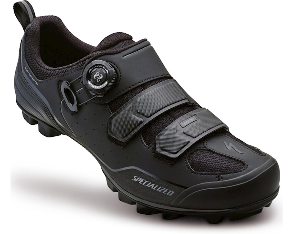 Specialized Comp Mountain Bike Shoes (Black/Dark Grey Wide) (44.5 Wide)