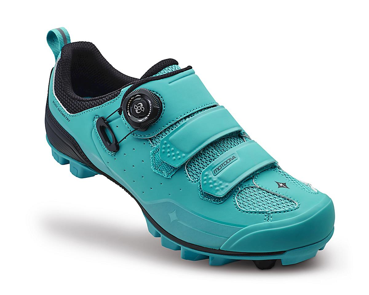 Specialized Motodiva Women's MTB Shoe (Turquoise Dipped) (40)
