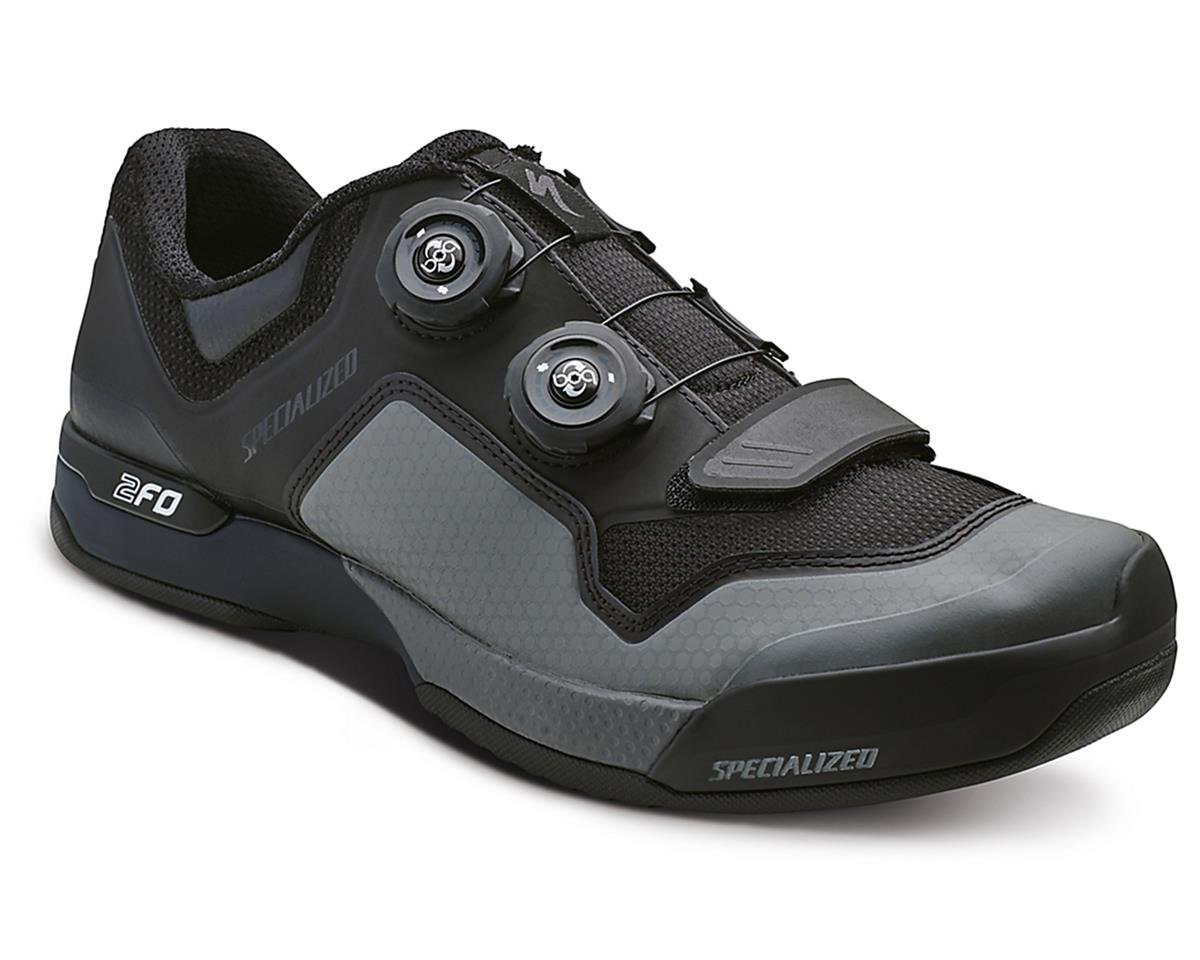 Specialized 2FO Cliplite MTB Shoe (Black/Dark Grey)