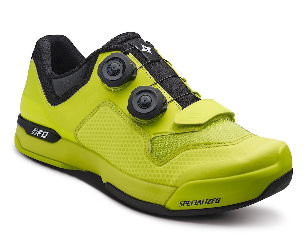 Specialized 2FO Cliplite Women's Mountain Bike Shoes (Hyper Green/Black)