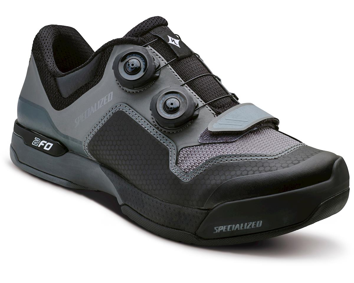 Specialized Women's 2FO ClipLite Mountain Bike Shoes (Black/Dark Grey) (42 Regular)