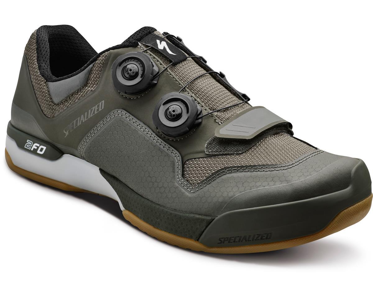 Specialized 2FO ClipLite Mountain Bike Shoes (Oak Green/Gum) (38 Regular)