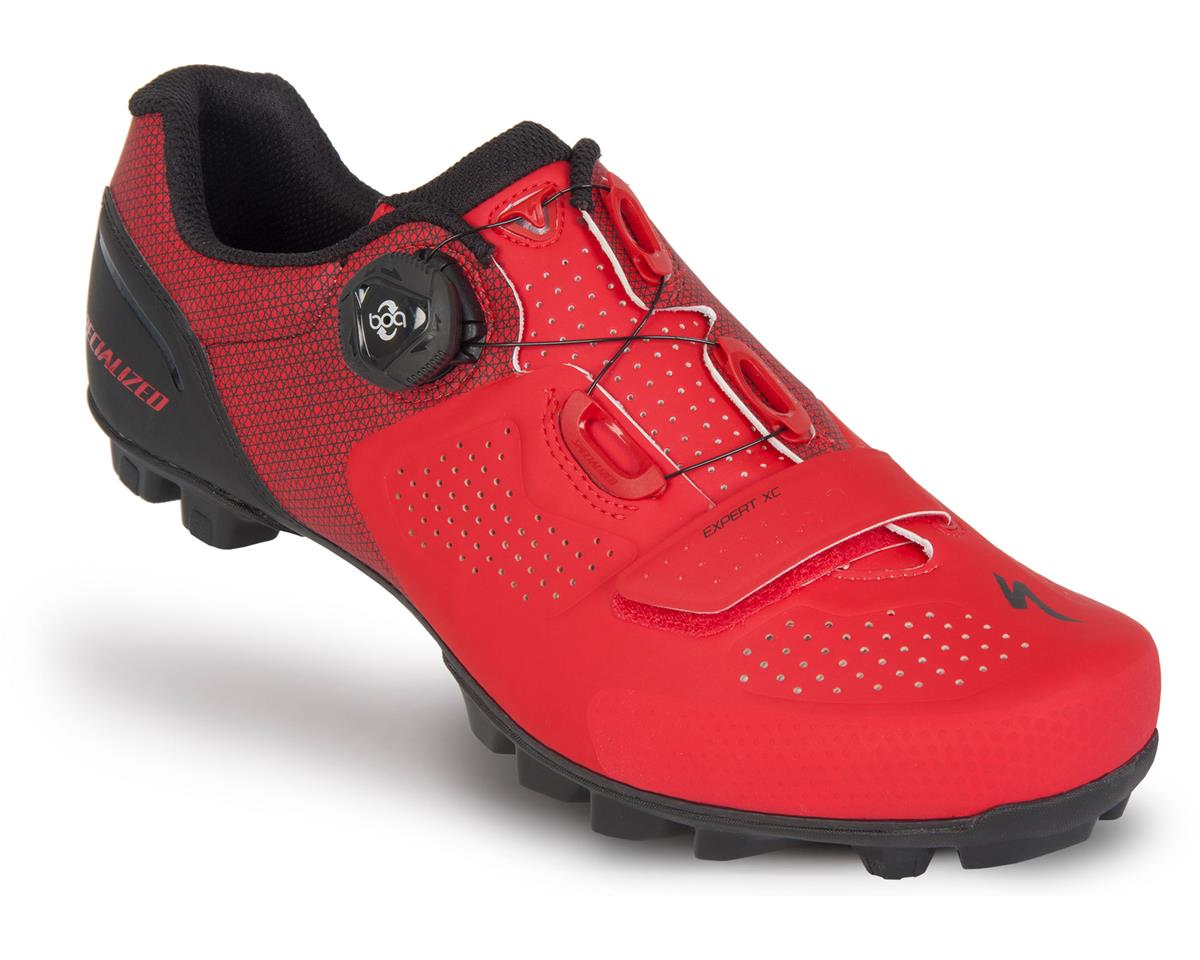 Expert XC Mountain Bike Shoes (Red/Black)