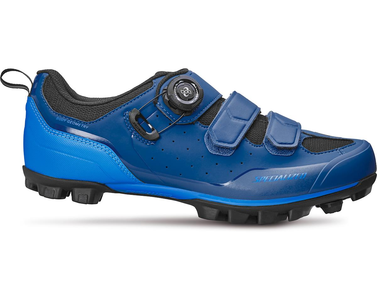 Specialized Comp Mountain Bike Shoes (Deep Blue/Cyan) (46.5 Regular)