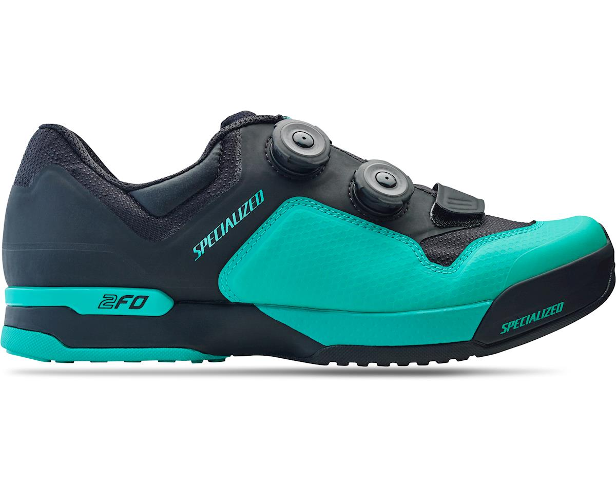Specialized 2FO ClipLite Mountain Bike Shoes (Acid Mint/Black) (41)