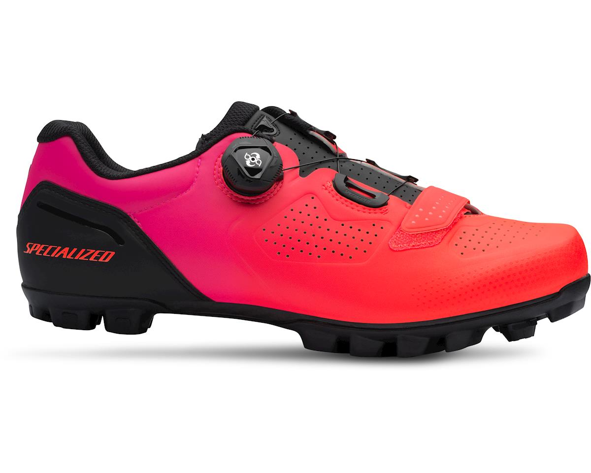 ad5f5641a8 Specialized Expert XC Mountain Bike Shoes (Black Acid Lava) (45 ...
