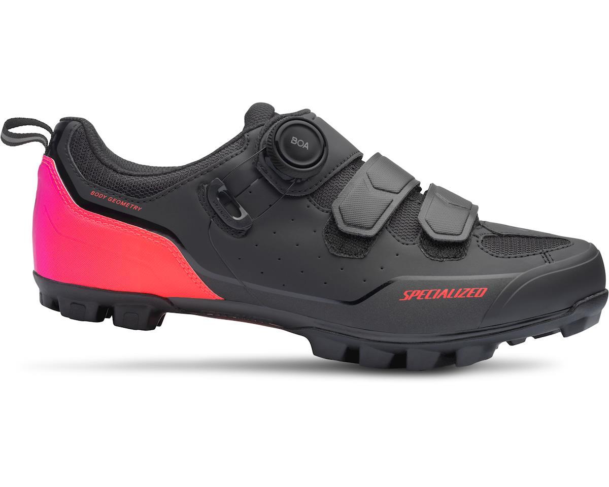 Specialized Comp Mountain Bike Shoes (Black/Acid Lava)