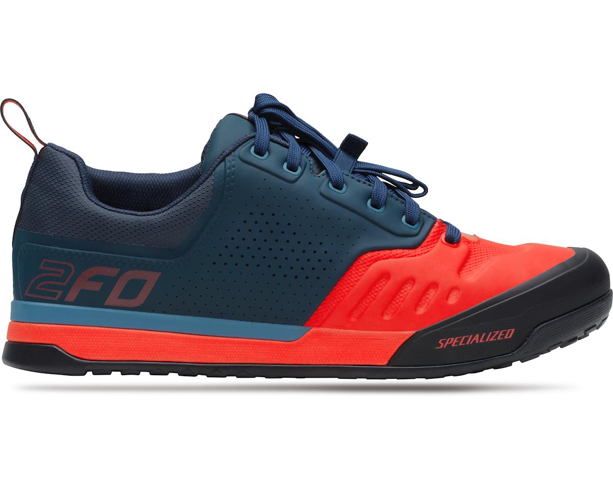 well known running shoes outlet on sale Specialized 2FO Flat 2.0 Mountain Bike Shoes (Cast Blue/Rocket Red ...