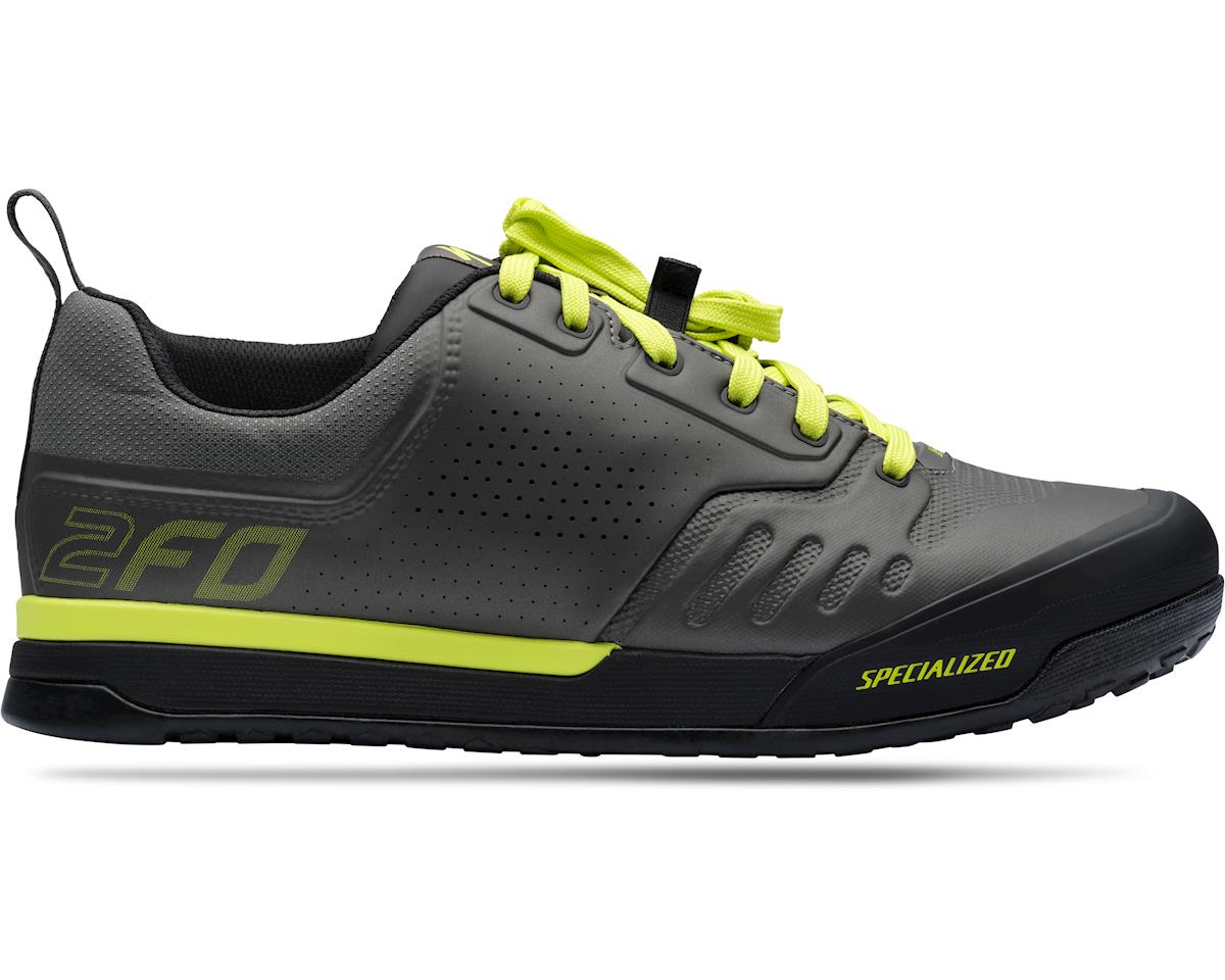 Specialized 2FO Flat 2.0 Mountain Bike Shoes (Charcoal/Ion) (36)