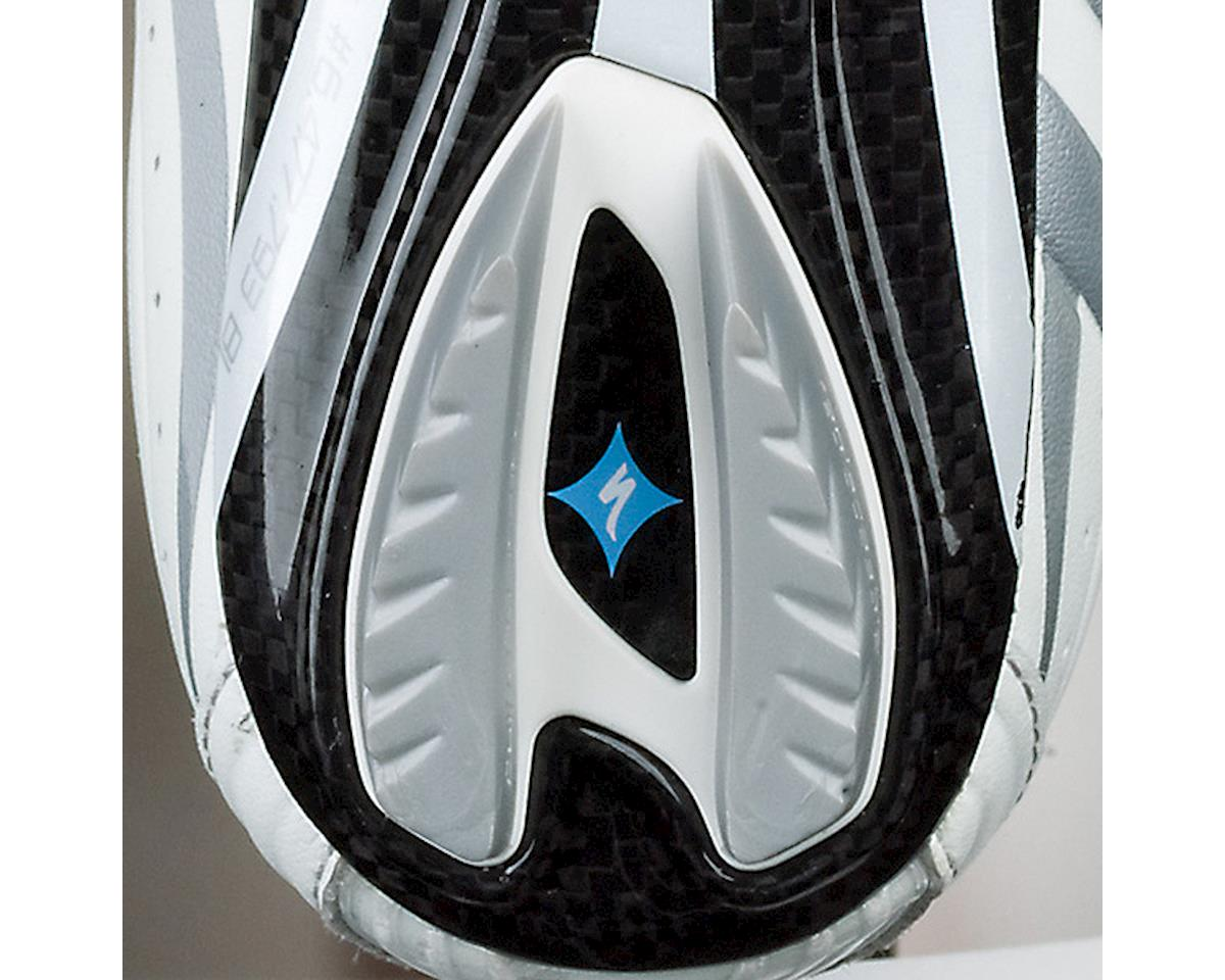 Specialized Replacement Road Shoe Heel Lug (Silver/White) (46-47 Regular)