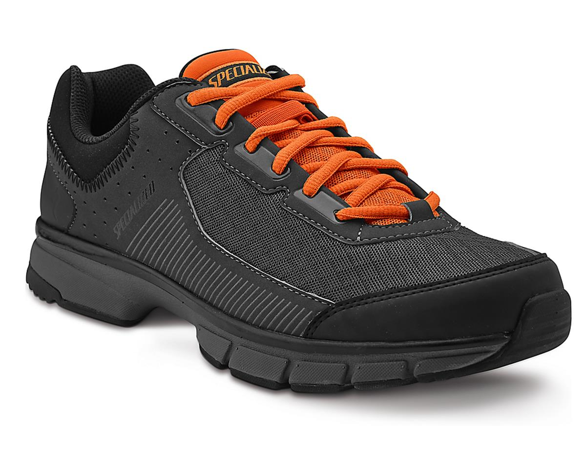 Specialized Cadet Bicycle Shoe (Black/Carbon/Bright Orange) (42)