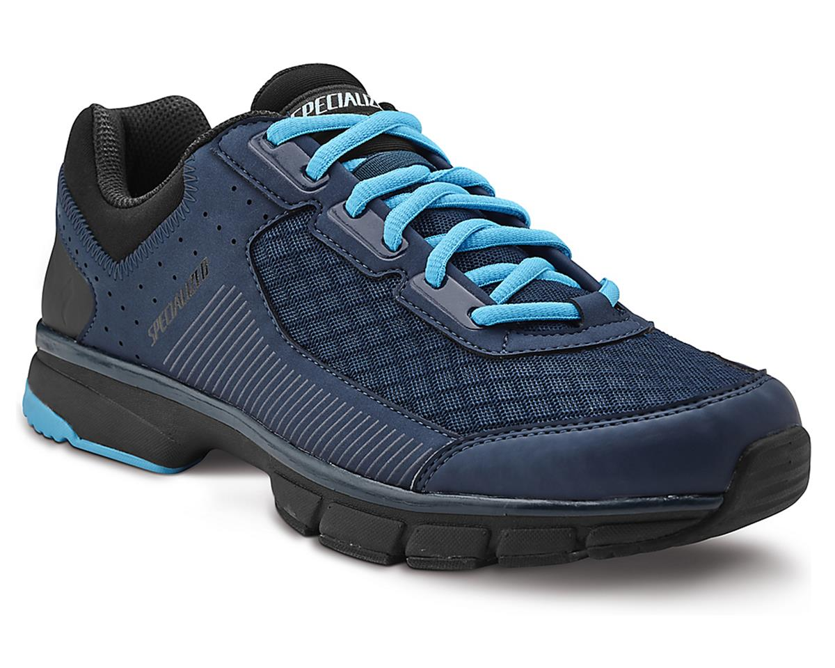 Specialized Cadet Bicycle Shoe (Deep Blue/Black/Neon Blue)