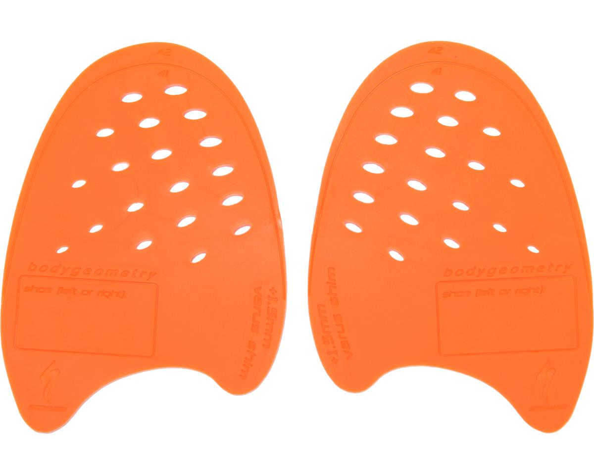 Specialized Body Geometry Internal Shoe Wedges (2) (Orange/Varus) (41-42)