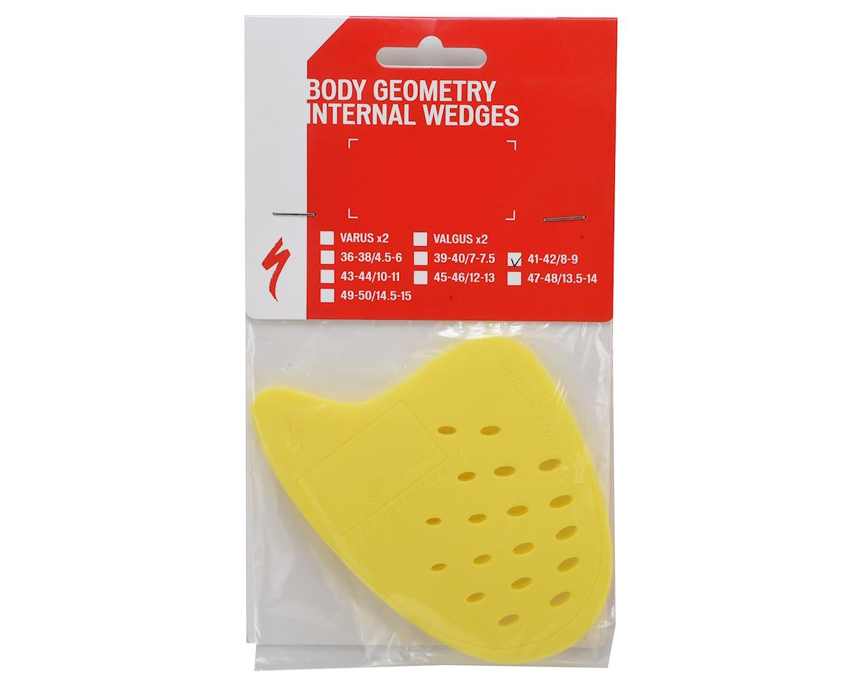 Image 2 for Specialized Body Geometry Internal Wedges (2) (Yellow/Valgus) (41-42)