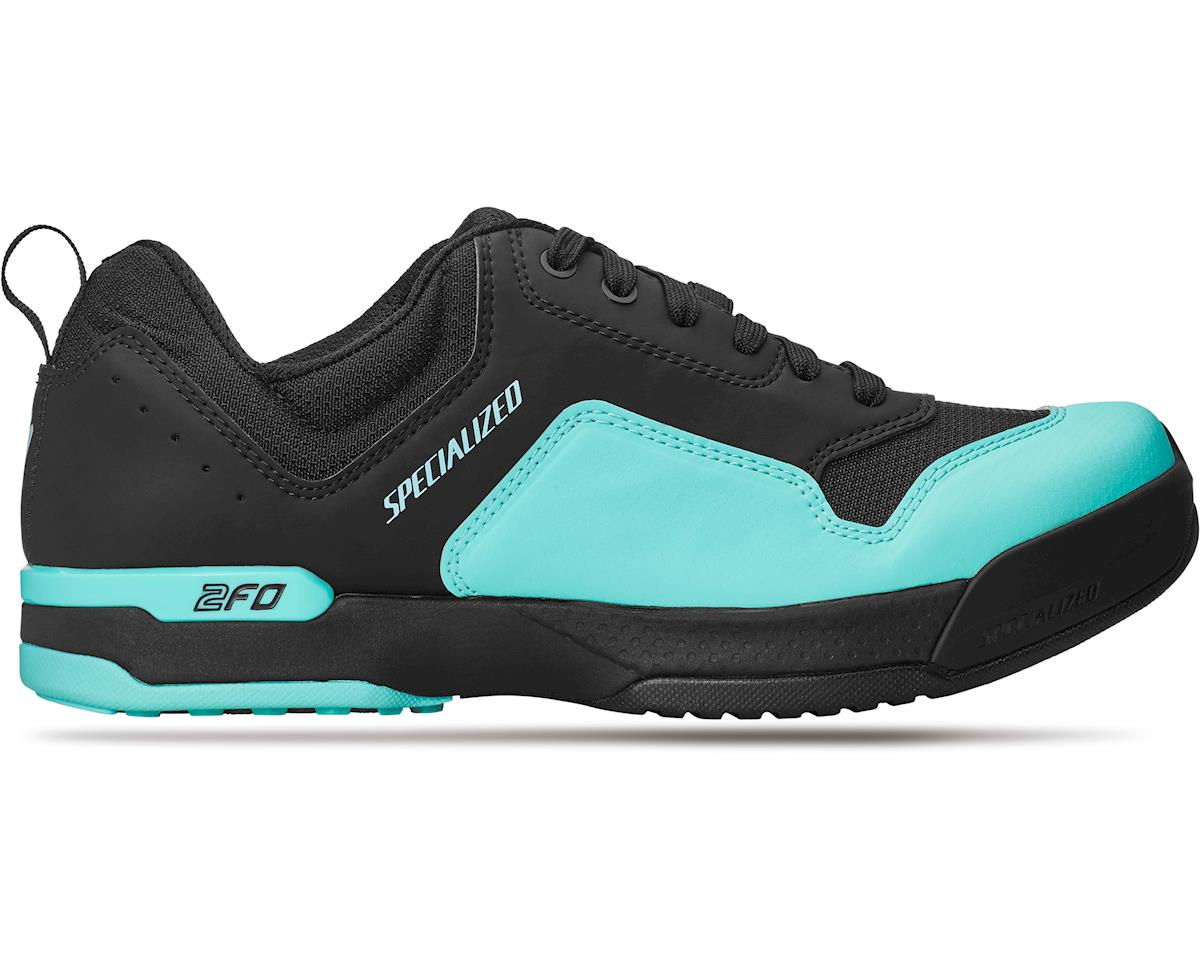 Specialized Women's 2FO ClipLite Lace Mountain Bike Shoes (Black/Turquoise)