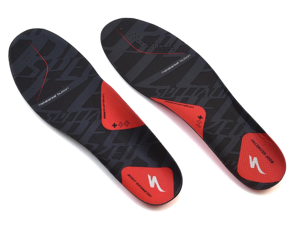 Specialized Body Geometry SL Footbeds (BG SL Footbed +Red) (46-47 regular)