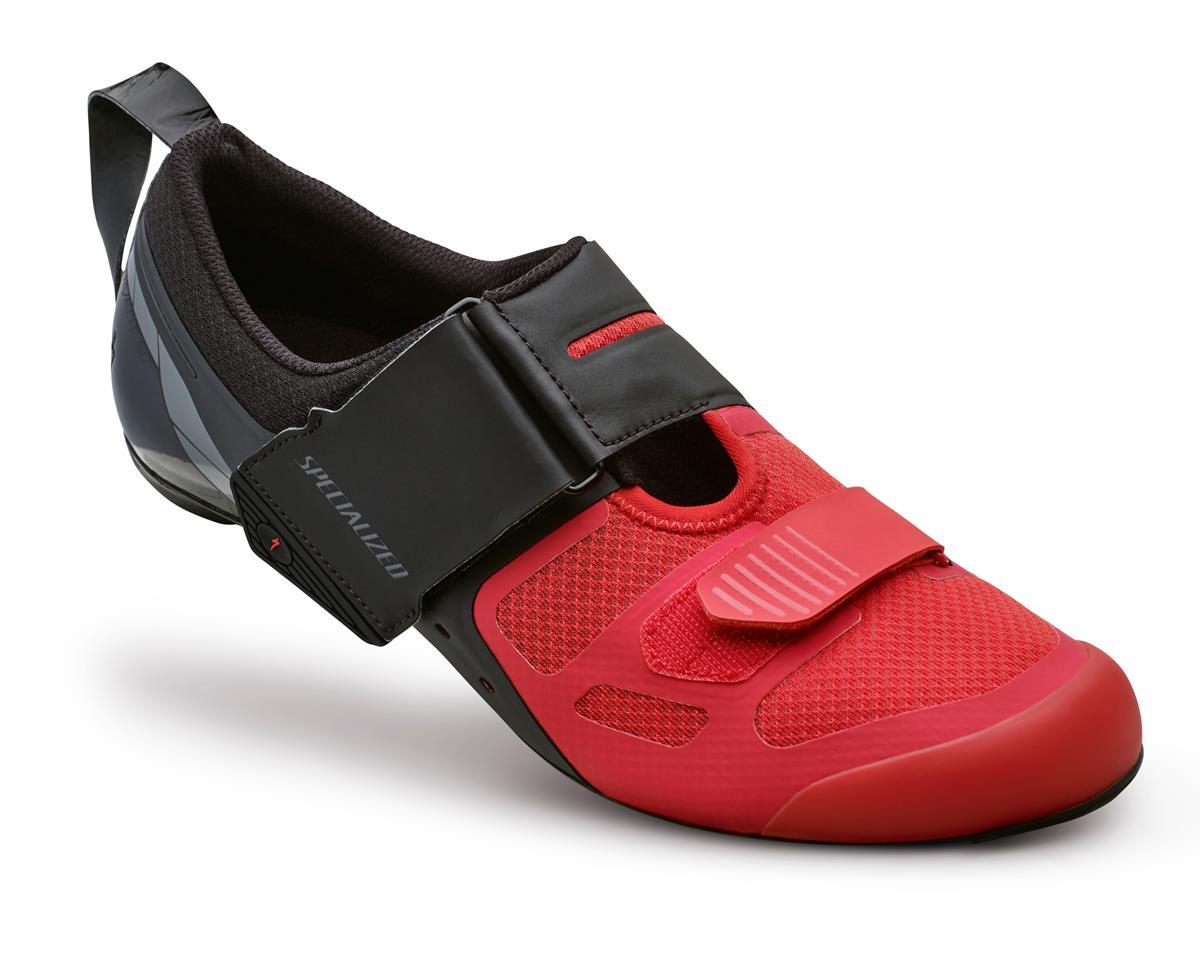 Specialized Trivent SC Triathlon Shoes (Black/Red) (39 Regular)