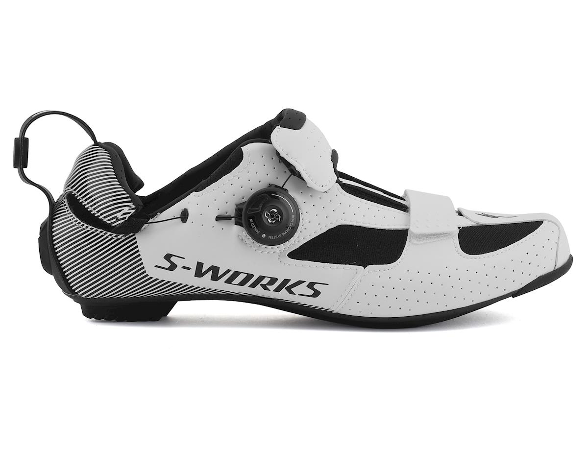 Specialized S-Works Trivent Triathlon Shoes (White) (37)