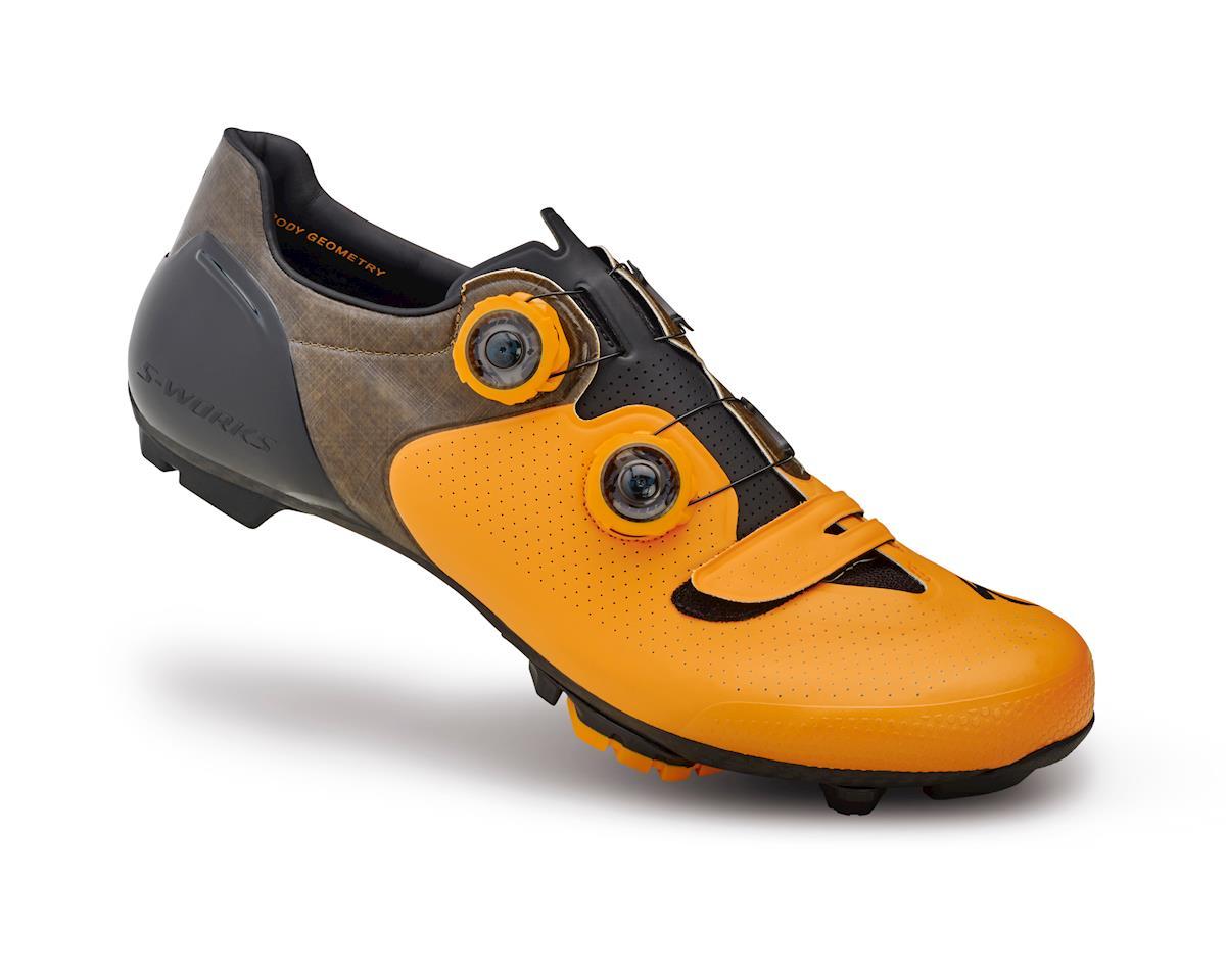 Specialized S-Works 6 XC Mountain Bike Shoes (Gallardo Orange/Black) (43 Regular)