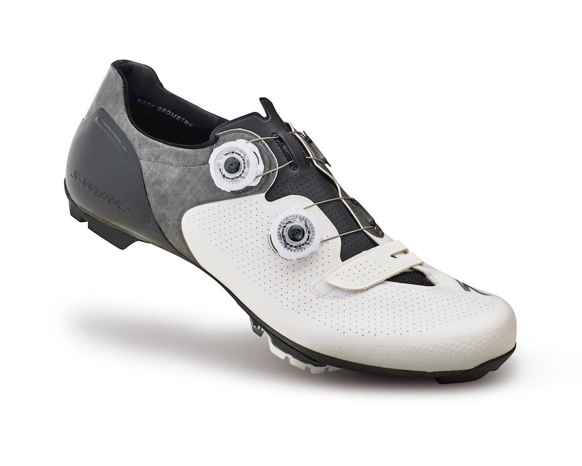 Specialized S-Works 6 XC Mountain Bike Shoes (White/Black) (39 Regular)