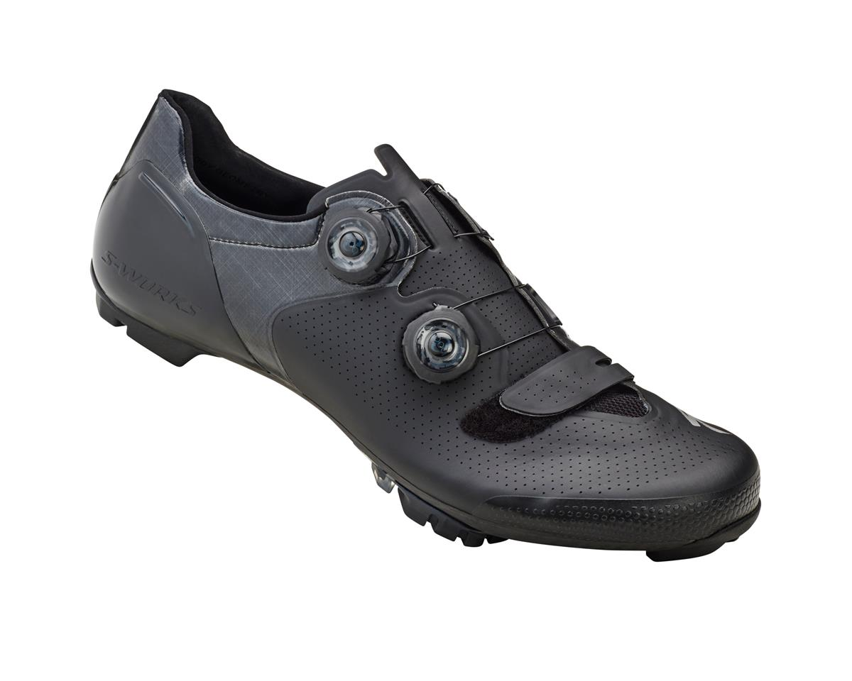 Specialized S-Works 6 XC Mountain Bike Shoes (Black Wide) (44.5 Wide)