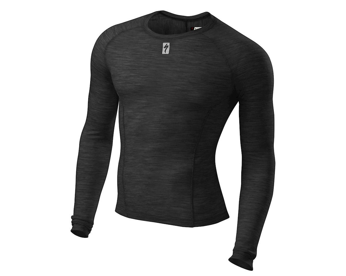 Specialized 2018 Merino Long Sleeve Tech Layer (Black) (S)
