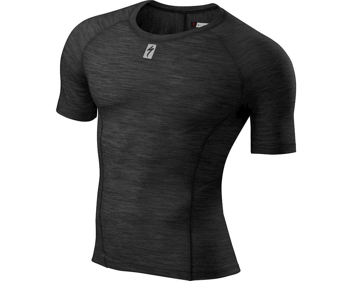 Specialized Merino Short Sleeve Tech Layer (Black) (2XL)