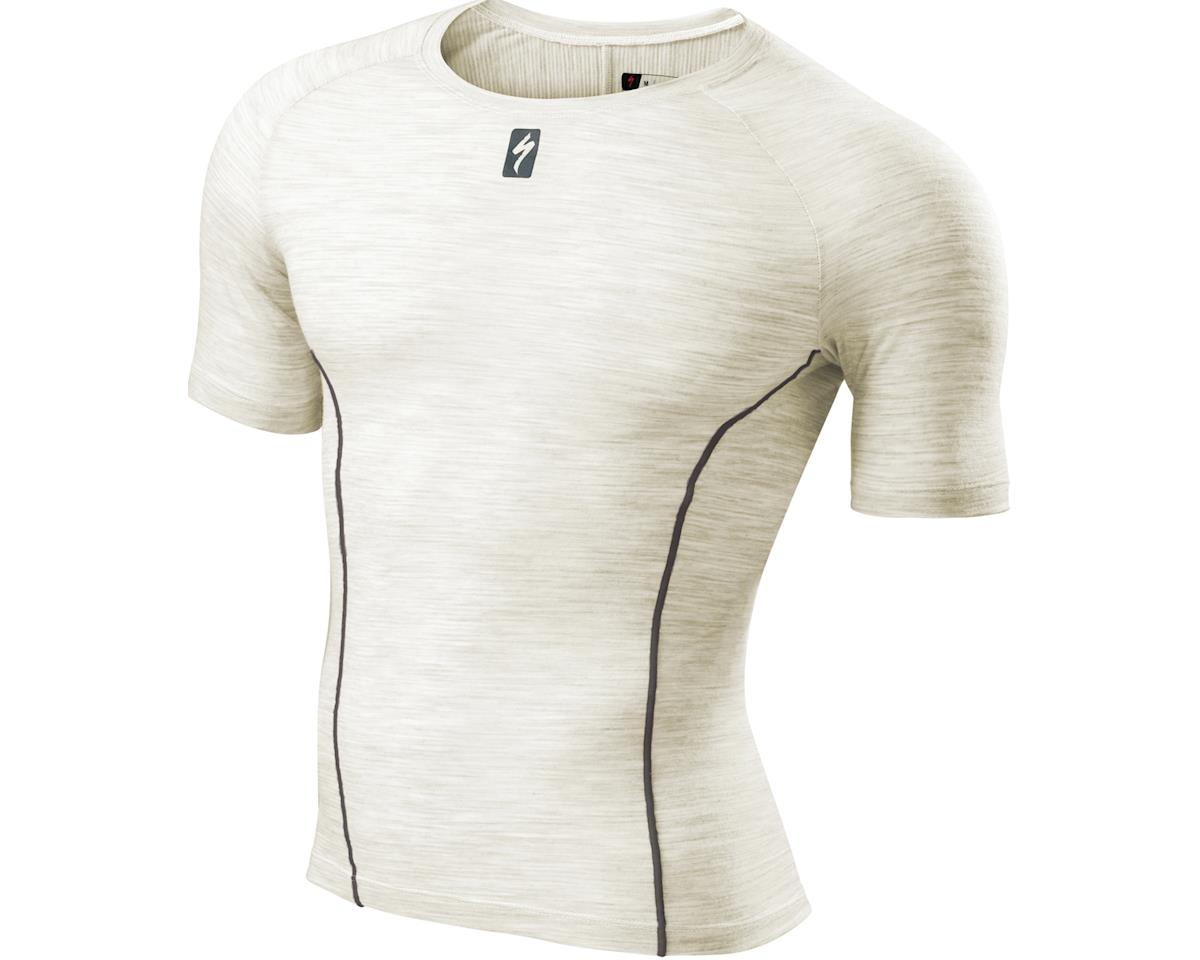 Specialized Merino Short Sleeve Tech Layer (Natural White) (2XL)