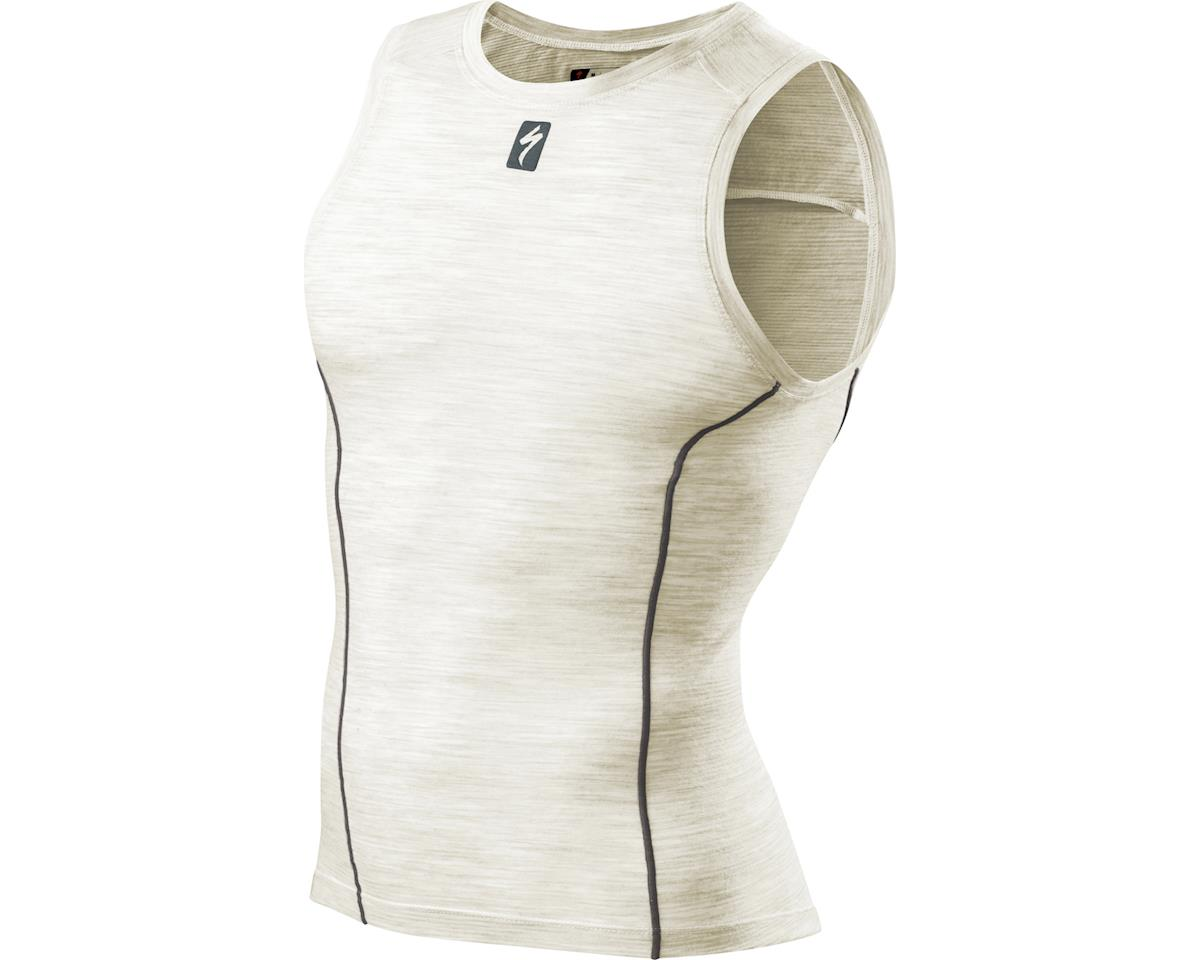 Specialized Merino Sleeveless Tech Layer (Natural White)