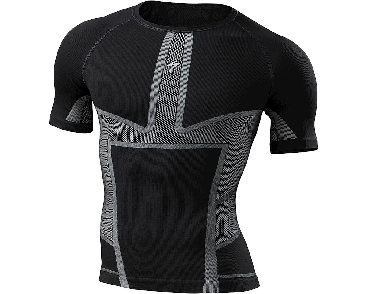 Specialized Engineered Short Sleeve Tech Layer (Black) (2XL)