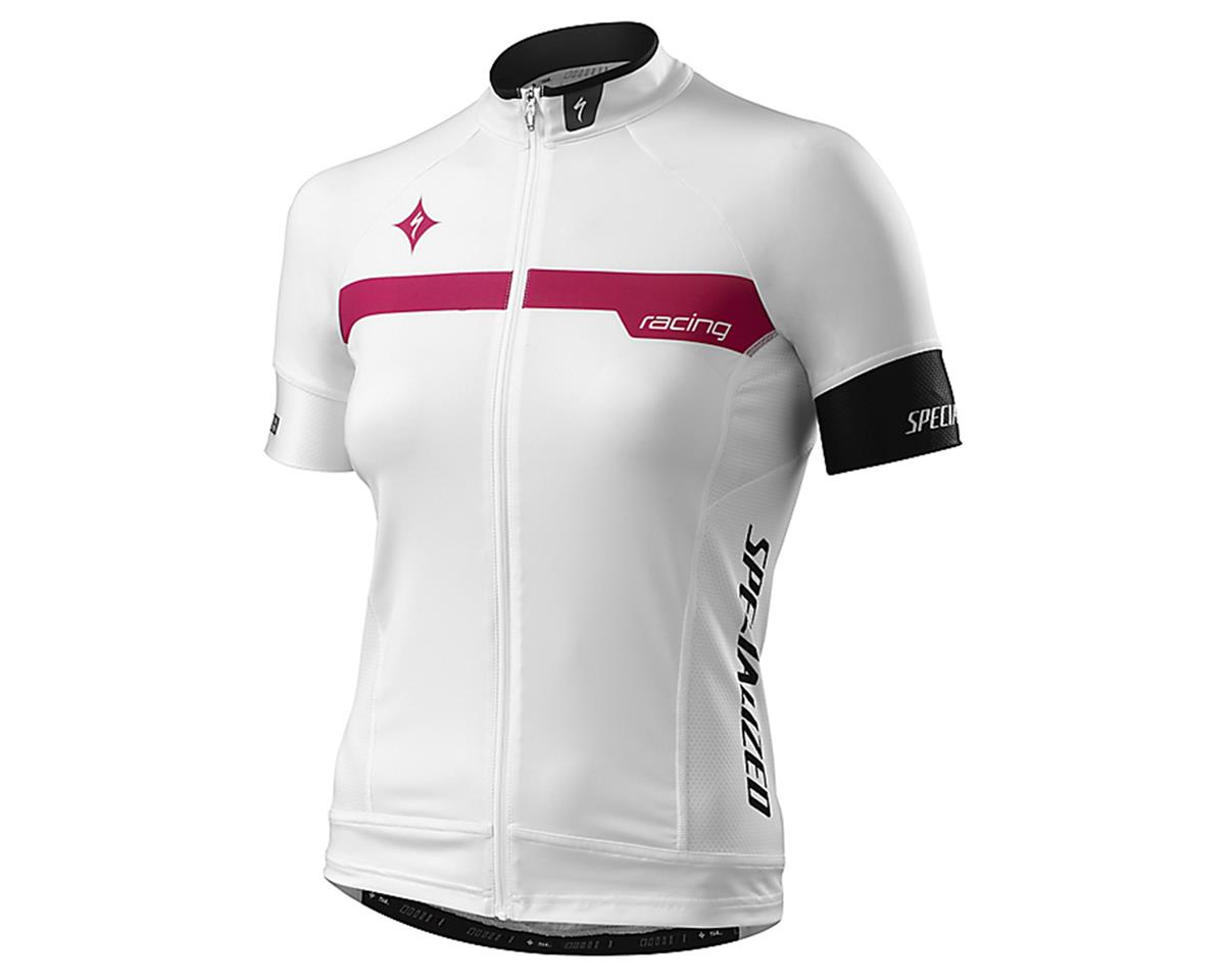 Specialized 2016 Women's SL Pro Jersey (Team White/Pink) (M)