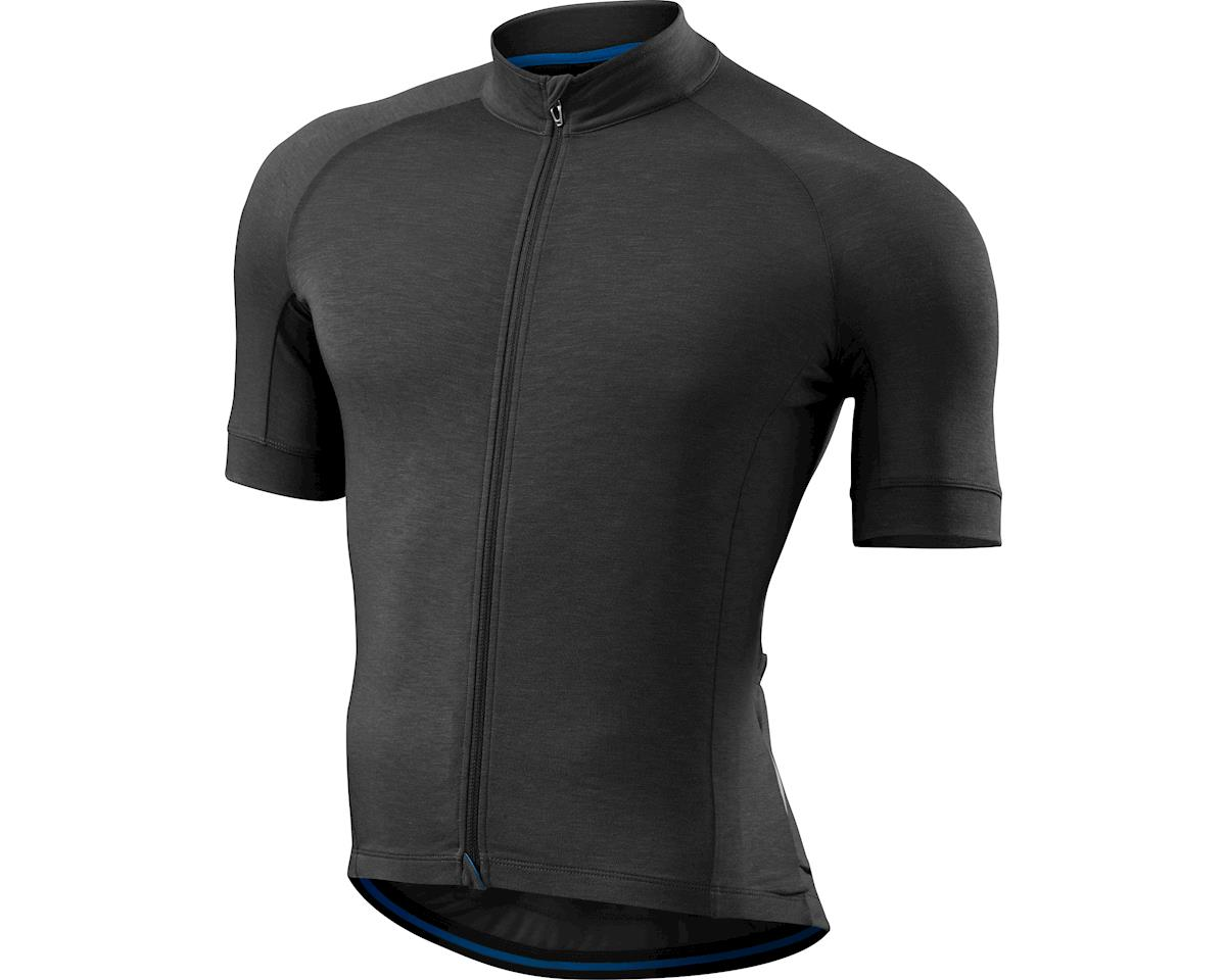 Specialized SL drirelease Merino Jersey (Carbon Heather) (2XL)