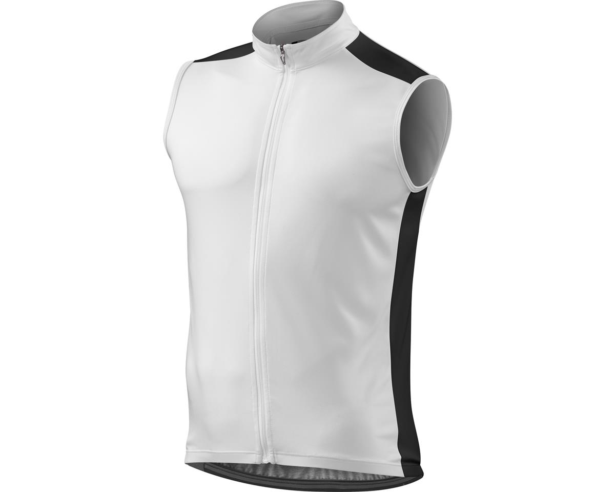 Specialized RBX Sport Sleeveless Jersey (White/Black) (Small)