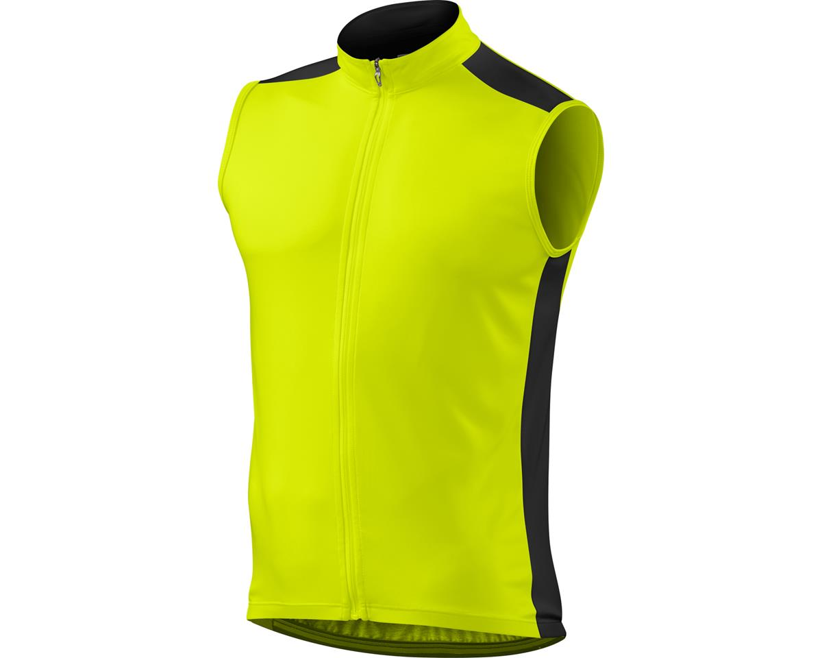 Specialized RBX Sport Sleeveless Jersey (Neon Yellow) (Small)