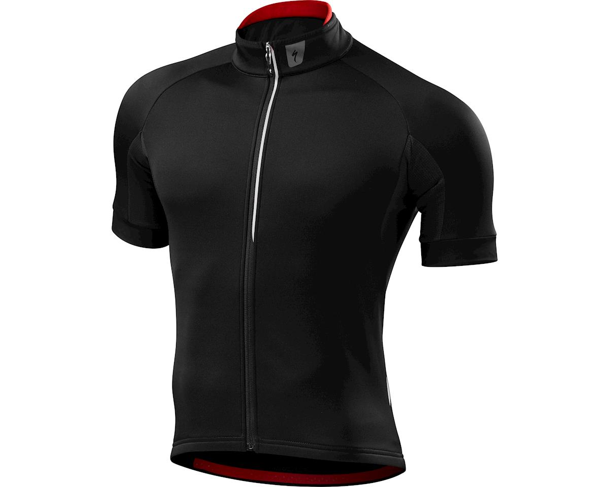 Specialized Therminal Short Sleeve Jersey (Black) (XXL)