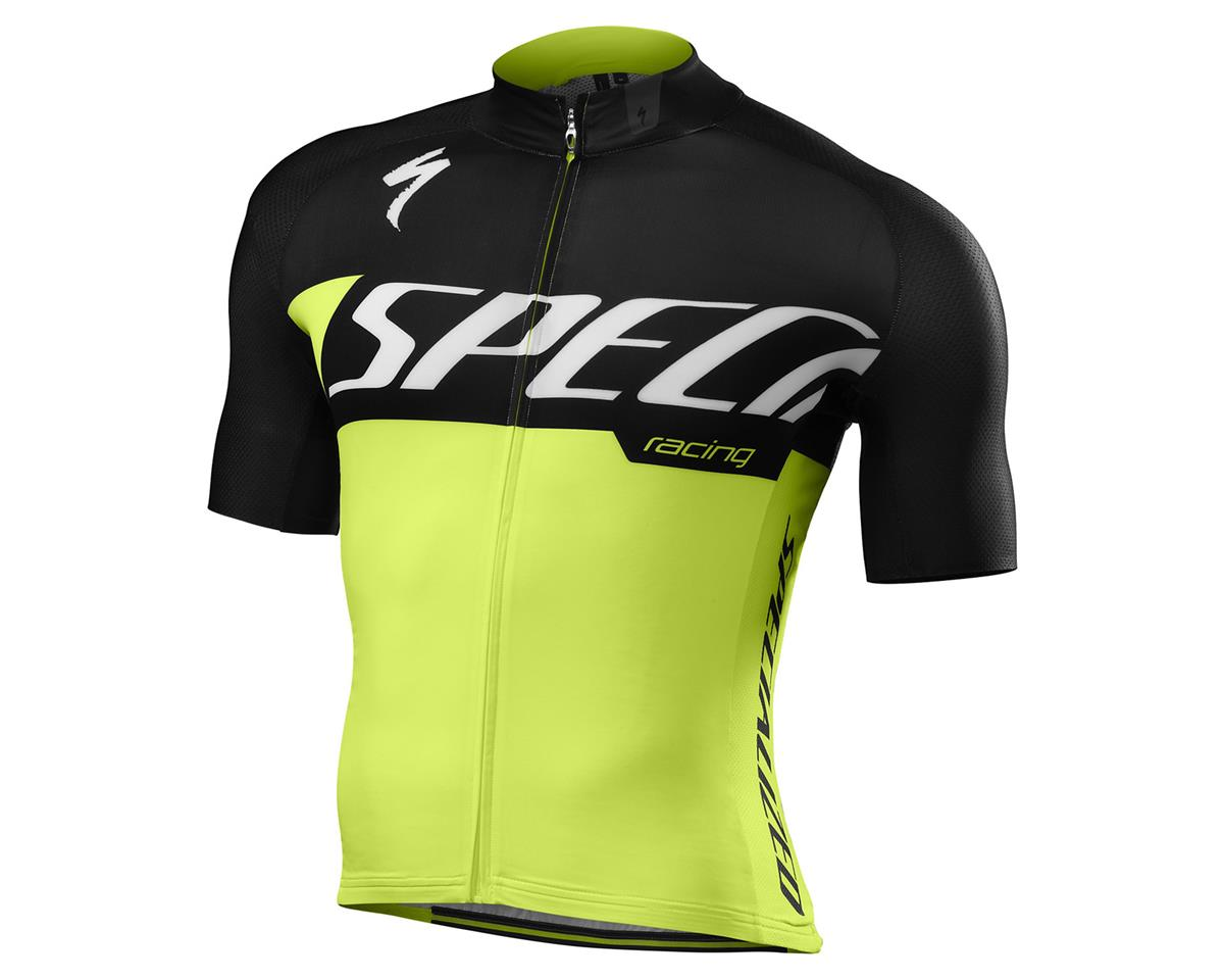 Specialized 2016 SL Pro Jersey (Neon Yellow Team)