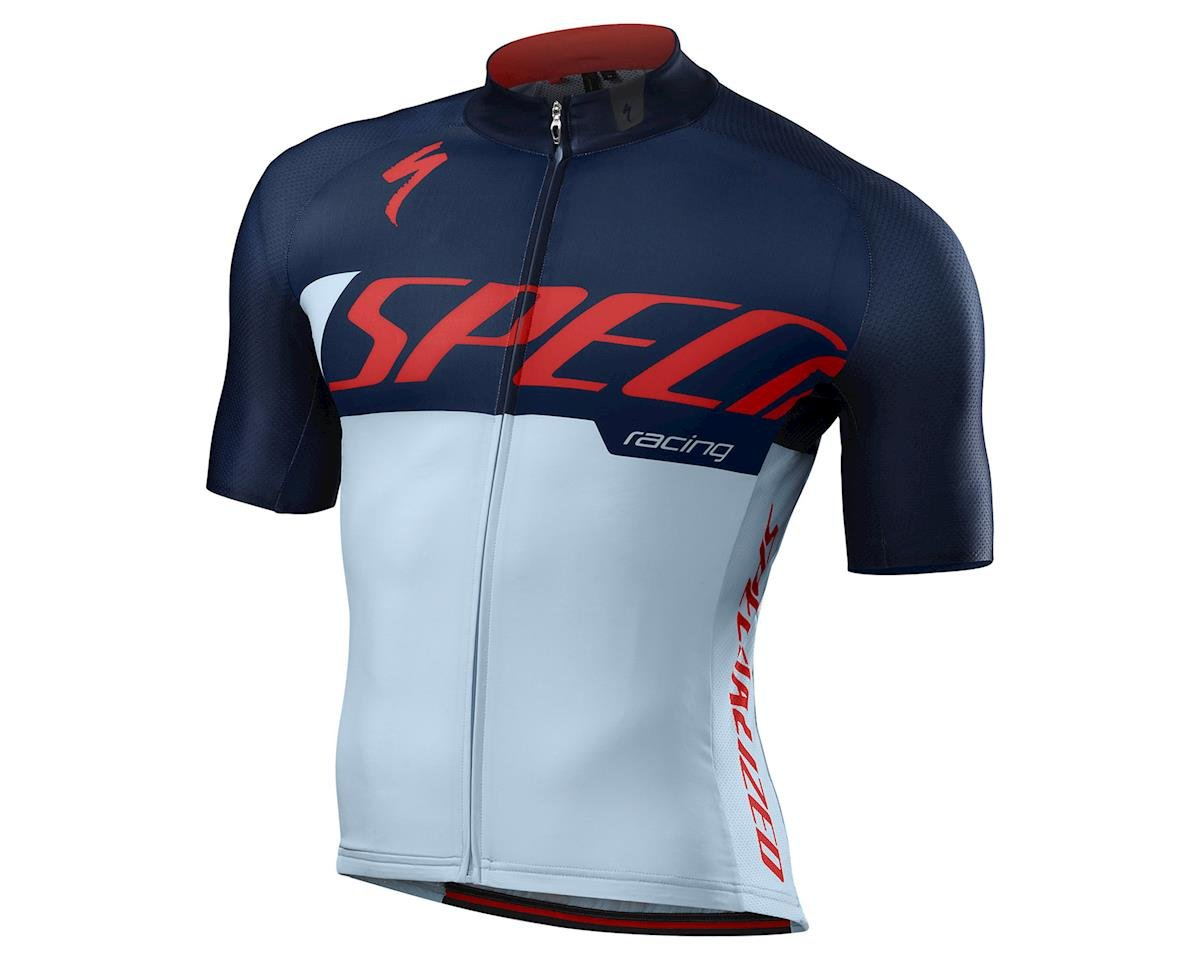 Specialized 2016 SL Pro Jersey (Baby Blue/Rocket Red Team)