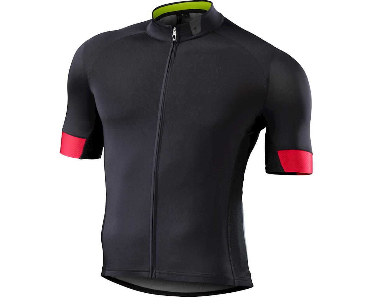 Specialized SL Expert Jersey (Black) (Small/Tall)