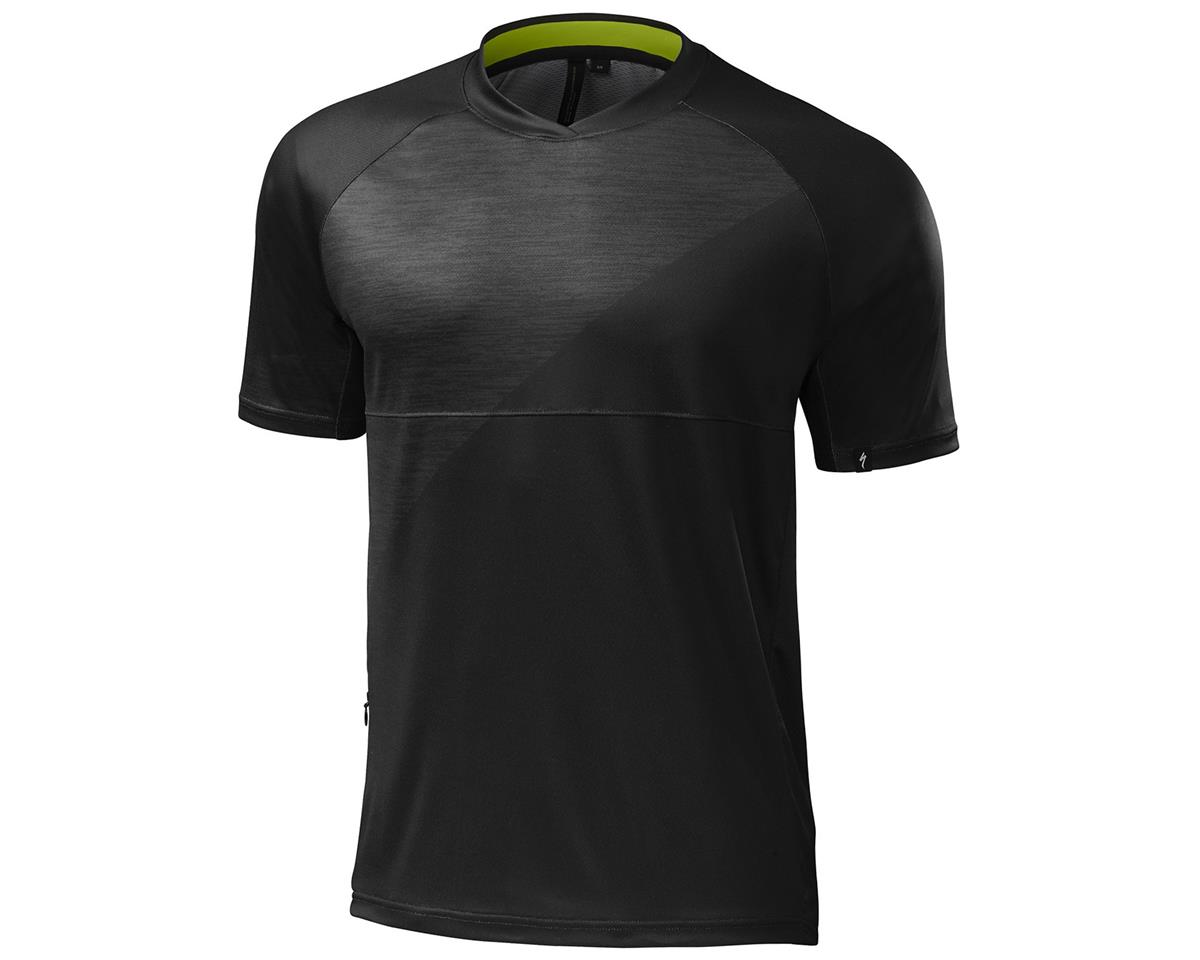 Specialized Enduro Comp Short Sleeve Jersey (Black)