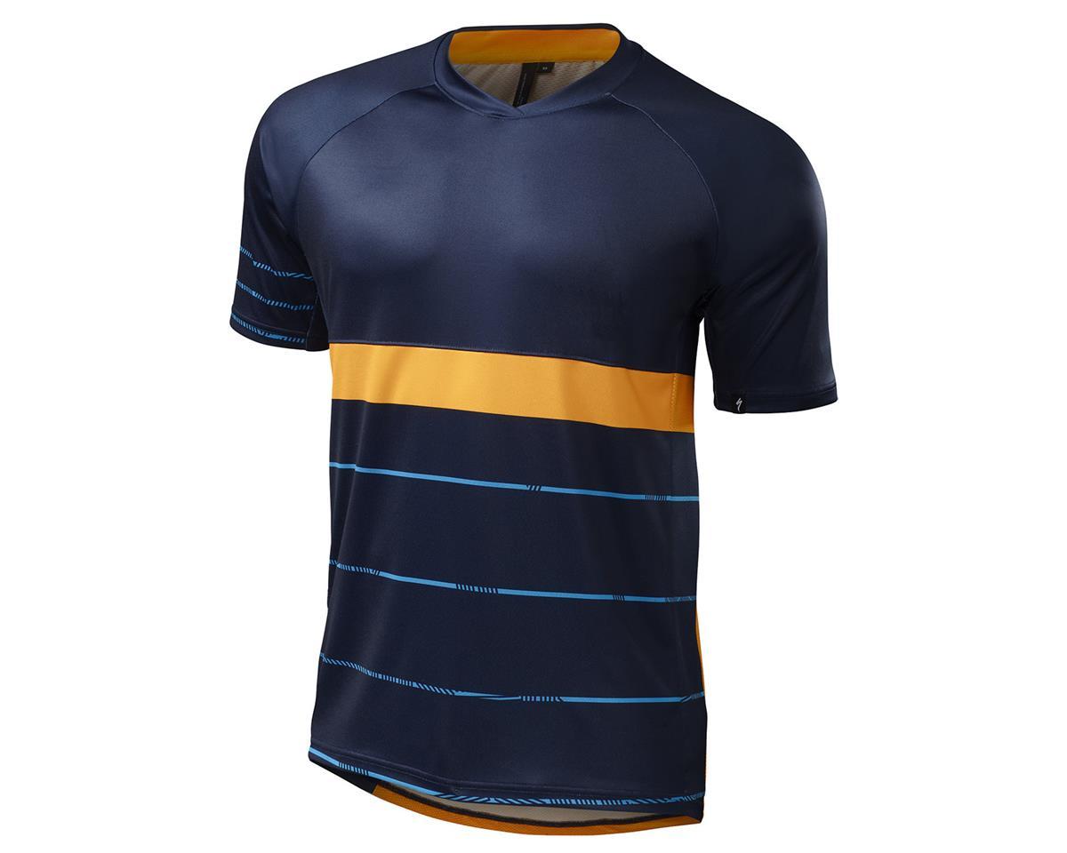 Specialized 2016 Enduro Comp Jersey (Navy/Gallardo Orange)