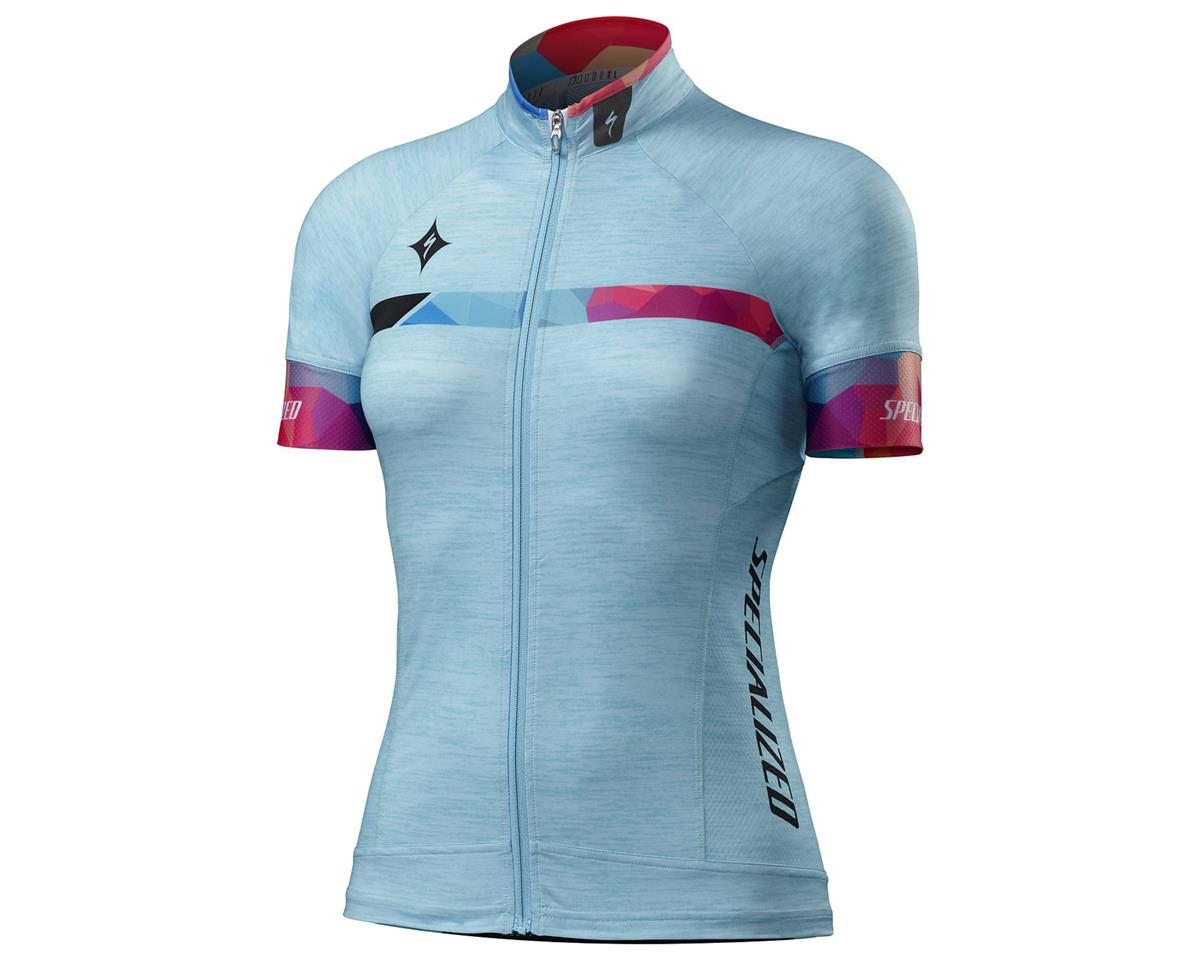 Specialized 2016 Women's SL Pro Jersey (Turquoise/Geo Fade)