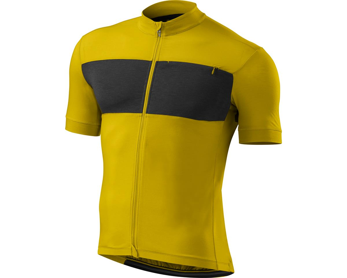 1c8efab60 Specialized RBX drirelease Merino Jersey (Mustard Yellow Heather Carbon)