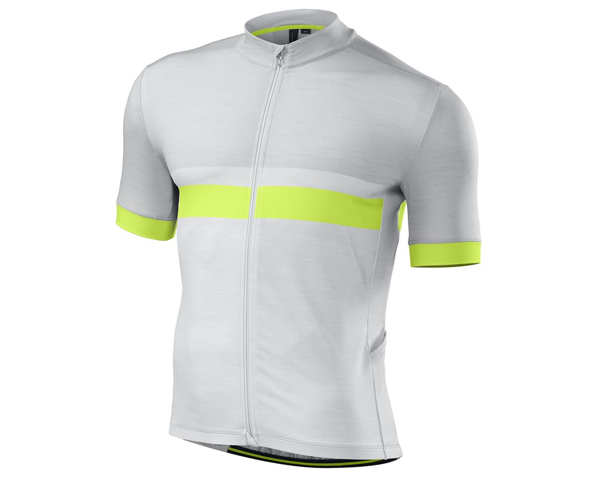 Specialized RBX Pro Jersey (Light Grey/Neon Yellow)