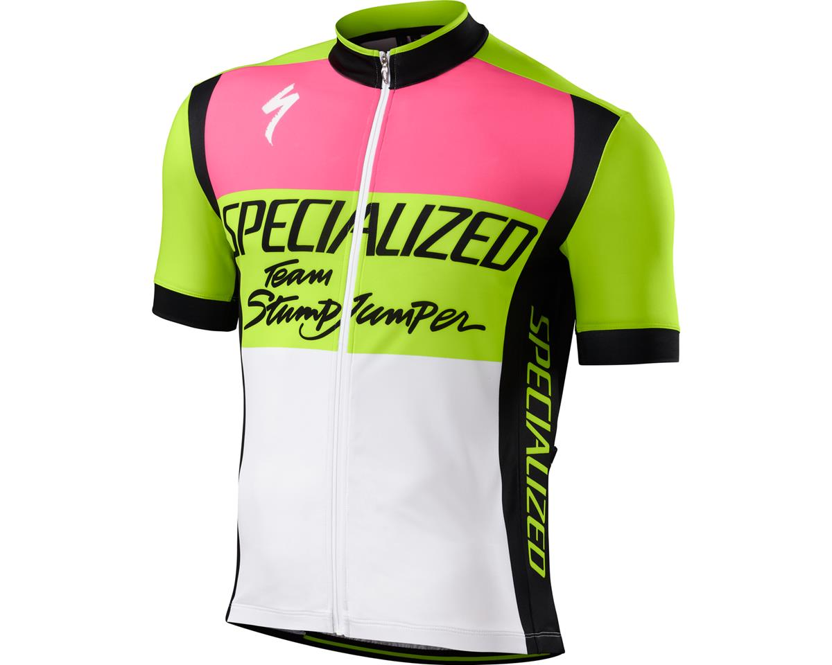 Specialized RBX Comp Jersey (Team Stumpjumper Neon Yellow) (XX-Large)