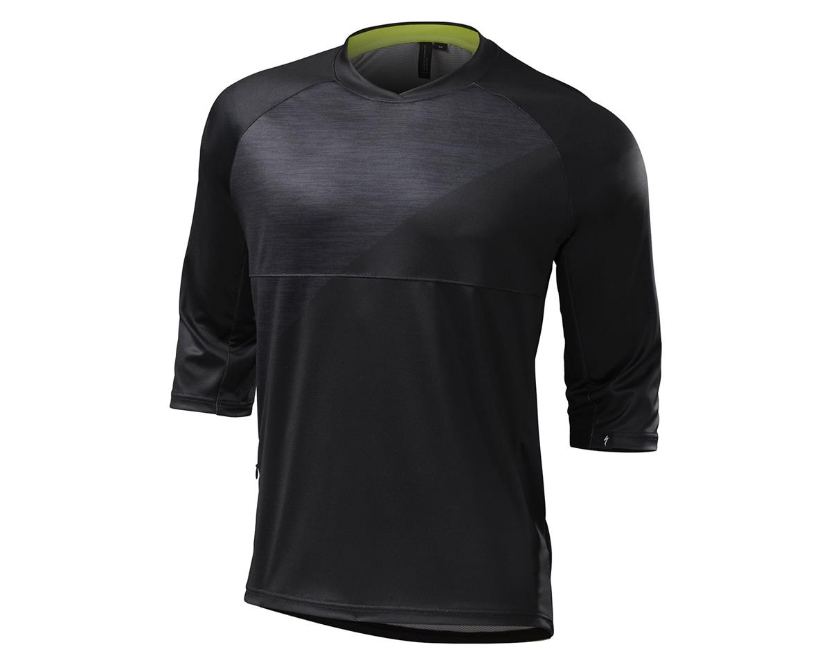 Specialized 2016 Enduro Comp 3/4 Sleeve Jersey (Black)