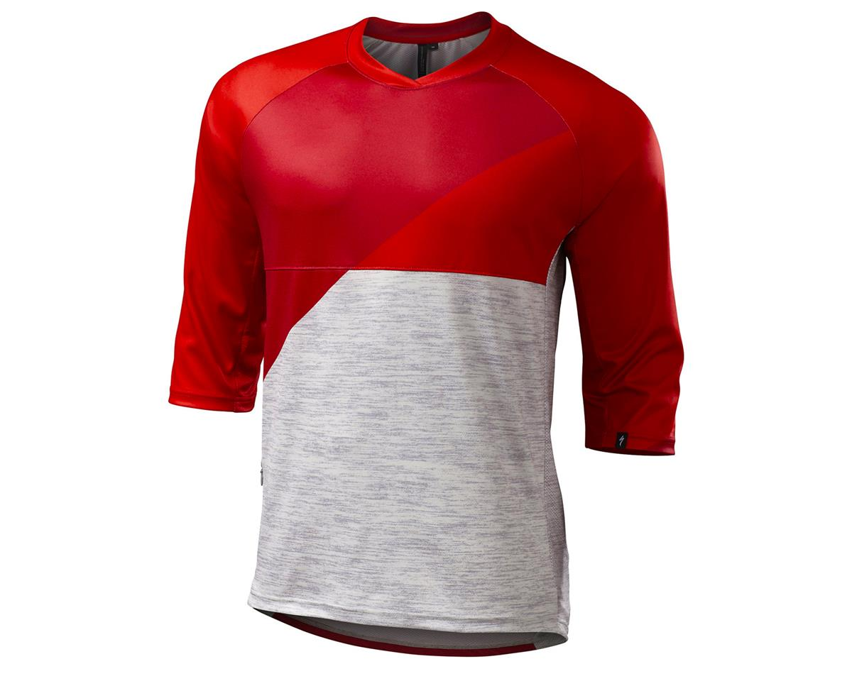 Specialized 2016 Enduro Comp 3/4 Sleeve Jersey (Red)